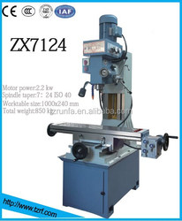 ZX7124 Professional Multifunction Drilling and Milling Machine Tool
