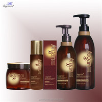 bio-cleansing active ingredients shampoo with argan oil for dry and itchy scalp