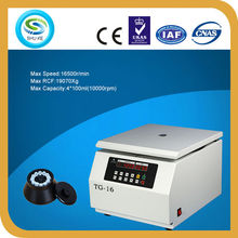 TG-16 high speed tabletop centrifuge machine price