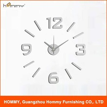 Fashion Design decorative atomic wall clock Home Decor 3D Large Diy Wall Clock