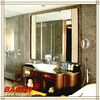Nice Framed mirror with LED light, wall mirrors BGL-013, 16 years supply for hotels