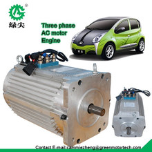 high power electric motor and controller for electric smart car