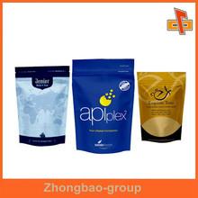 manufacturers food grade thermal resealable aluminum foil plastic ziplock bags for food packaging