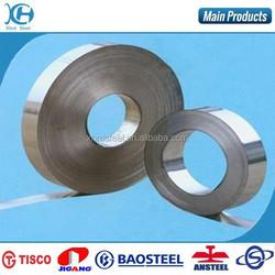 manufacturer of hot rolled strip steel, tempered spring strip steel, wiht self adhesive