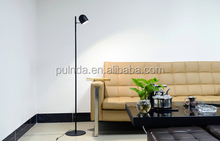 big large white metal floor lamp for hotel project