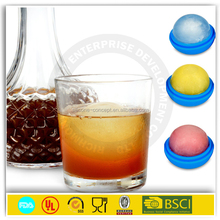 good quality single ice ball mold silicone ice cube tray