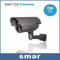 High Quality Pure Aluminum Alloy Material 700TVL Sony Effio-eCCD Security Camera Outdoor Via 42mil Taiwan Epistar Array LED