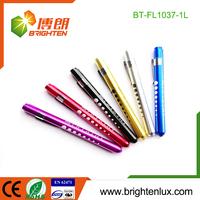Manufacturer Wholesale Doctor and Nurse Used Diagnostic led Pocket penlight with tongue depressor