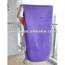 new plain microfiber bath towel (BOLI2015)