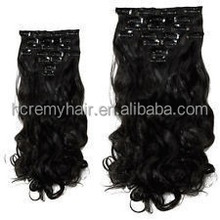 Curly Blonde Clip In Hair Extensions Black Women Clip Ponytails Remy Human Hair Clip On