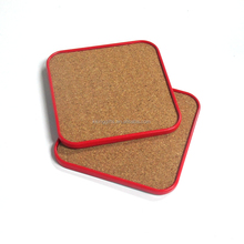 Christmas gifts made in china custom wine corks tin coasters set for sale