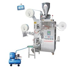 Automatic Tea bag Packing Machine with Thread, Tag & Outer Envelope