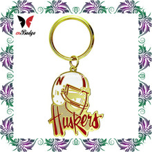 Factory direct sale promotion keychain rubber bus keychain