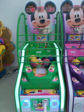 2015 Canton fair new arrival tickets out indoor amusement mall high quality street electronic machine basketball