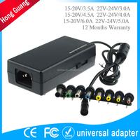 5.5*1.7mm DC tip adapter 220v 12v 10a for laptop & car
