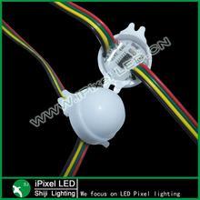 30mm led dot light video wall pixel poi