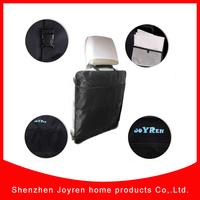 Baby product polyester mesh pocket car kick mat
