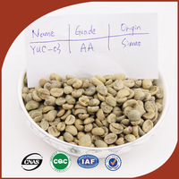 Featured Round Coffee Beans Source in Yunnan arabica coffee beans organic round high altitude Chinese Raw Coffee Dried Beans