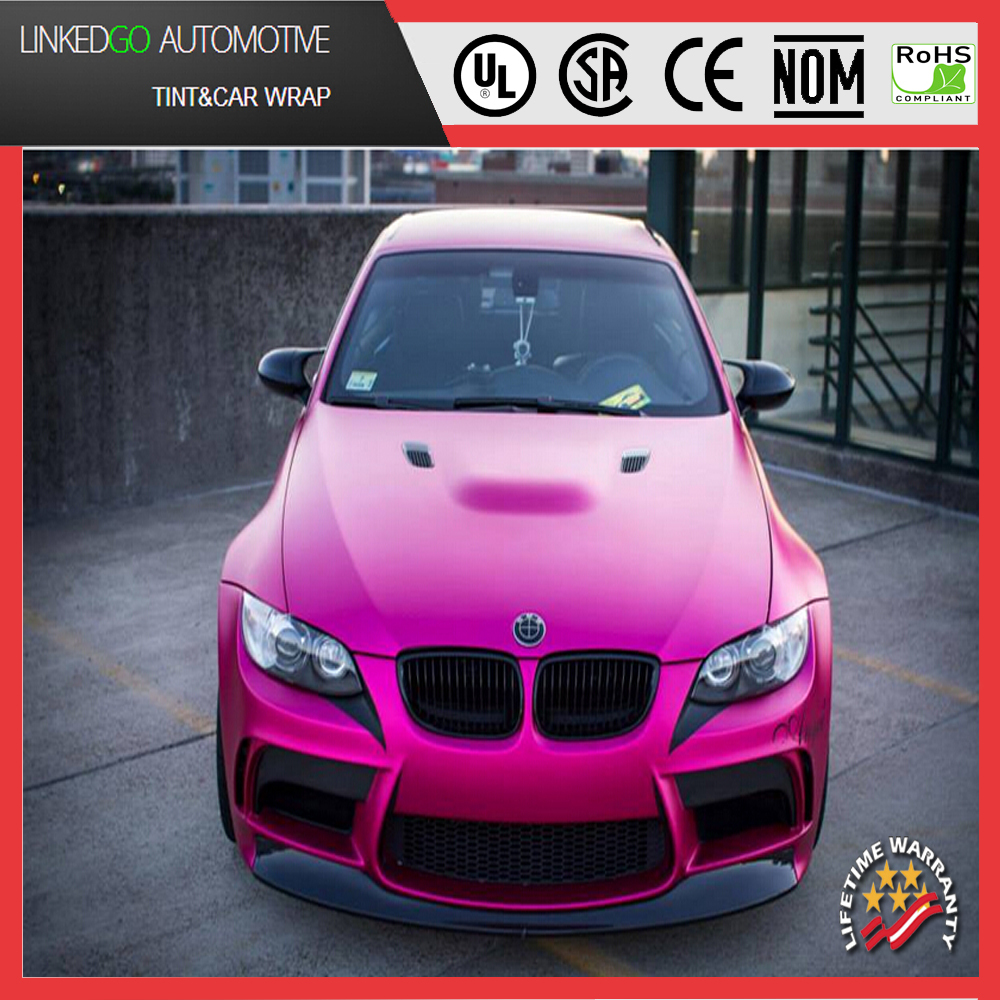 Metallic Pink Cars Good Car Wrapping Metallic