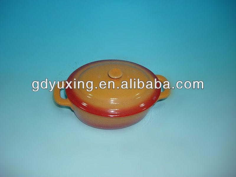 Mini cacerola de cer mica horno cazuela segura for Horno ceramica precio