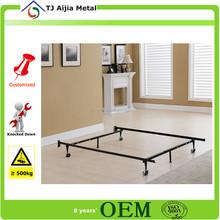 children bedroom furniture modern bed frame in twin, metal bed frame