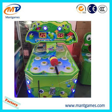 Amusement game machine frog Hitting touch screen electric indoor hammer multi arcade game machine kit for sale