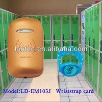 Zinc Alloy 125kHz swimming pool locker lock
