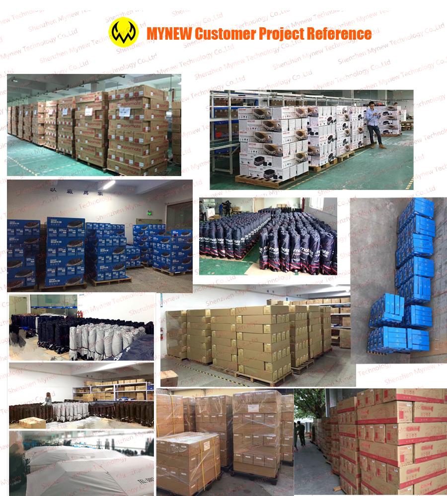 Customer project glance