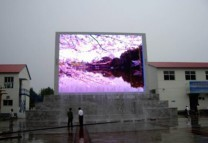 multi language p16 mm led outdoor full color display led viode wall