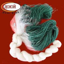 Nylon Monofilament Finished Fishing Nets with Floats and Sinkers