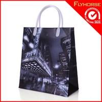Shanghai Custom Branded Advertisement Non Woven Shopping Bag