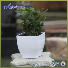 decorative garden cheap plastic flower pots , home decor