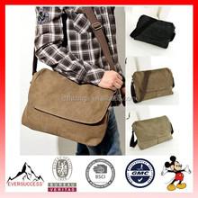 Hot Sell Messenger Bag Men Canvas Vintage Messenger Shoulder Bags
