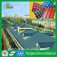 low price extraordinary heat preservation and heat insulation plastic bamboo roofing tile