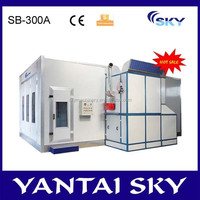 2015 alibaba China spray machine booth, auto spray paint machine, car spray paint boots