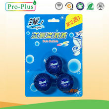 Wholesales oem 3pcs/packs gel Toilet cleaner names/Blue Eco Toilet Block/Toilet cleaning tablet