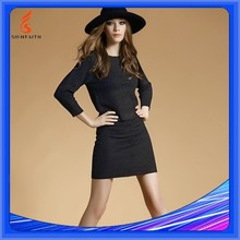 Package Hip 2 Piece Bodycon Skirt Set, Ladies Knit Skirt Suits