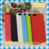Rubber Coated Plastic Phone Case Cover Black for iphone