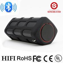2015 Sinoband S400 Bluetooth Wireless Speaker Waterproof, Dustproof and Shockproof Bluetooth Speaker