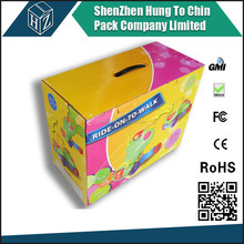 Customized colorful paper printed box / colorful printed paper packing box wholesale