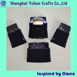 Custom luxury suedine velvet packaging pouch for cosmetics case/tube