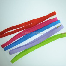polyester elastic sport head band, simple hair band, elastic hair hoop