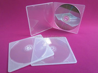 5mm PP cd case plastic clear