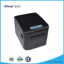 Safe and durable kitchen printer with paper out in front of the printer