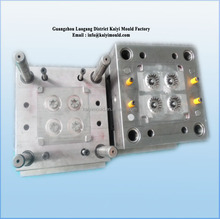 Guangzhou factory plastic injection mould for plastic warm gear
