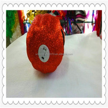 Custom foam glitter halloween pumpkin for halloween wholesale