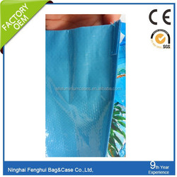 pp woven shopping bags full print hot summer/beach bag