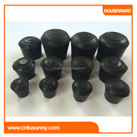 multi purpose rubber covers for garden furniture chair legs sliders