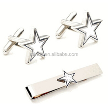 High Quality Cufflinks and Tie Clip 2 piece Set For Men ,Jewelry Cufflink And Tie Clip Shirt Accessories