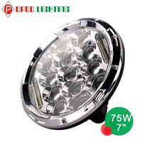 2015 hot jeep wrangler offroad 4x4 accessories motorcycle led head light 7inch 75w